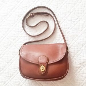 Vintage Coach Prairie crossbody bag in British tan